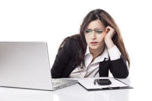 ストレスを溜め過ぎた女性